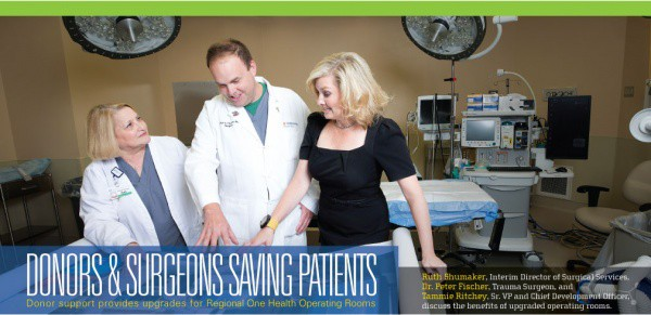 Donors & Surgeons Saving Patients - Regional One Health