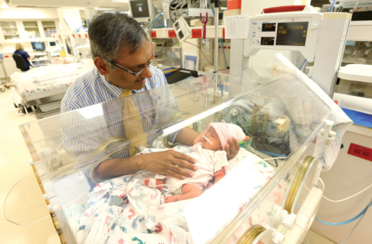 NICU Stories: Dr  Dhanireddy safeguards the future one life
