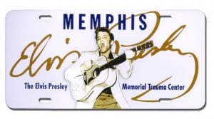 Elvis Presley License Plates