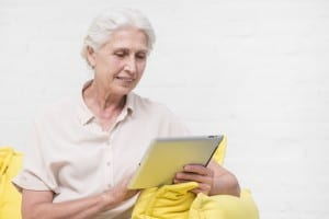 Speech-language pathologists can help patients identify apps that will help them with their therapy.