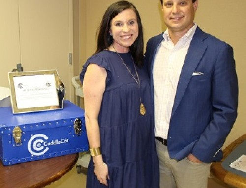 Driven by compassion, Emily and Joel Long want to donate cuddle cots to all Tennessee hospitals, including Regional One Health