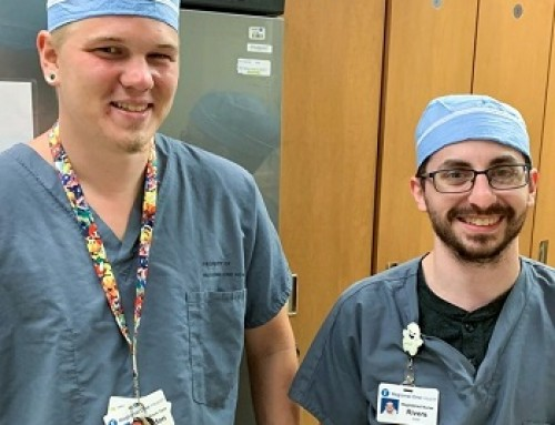 """""""That's why we got into health care:"""" For Rivers Smith and Brandon Williams, the desire to help extends beyond the walls of Regional One Health"""