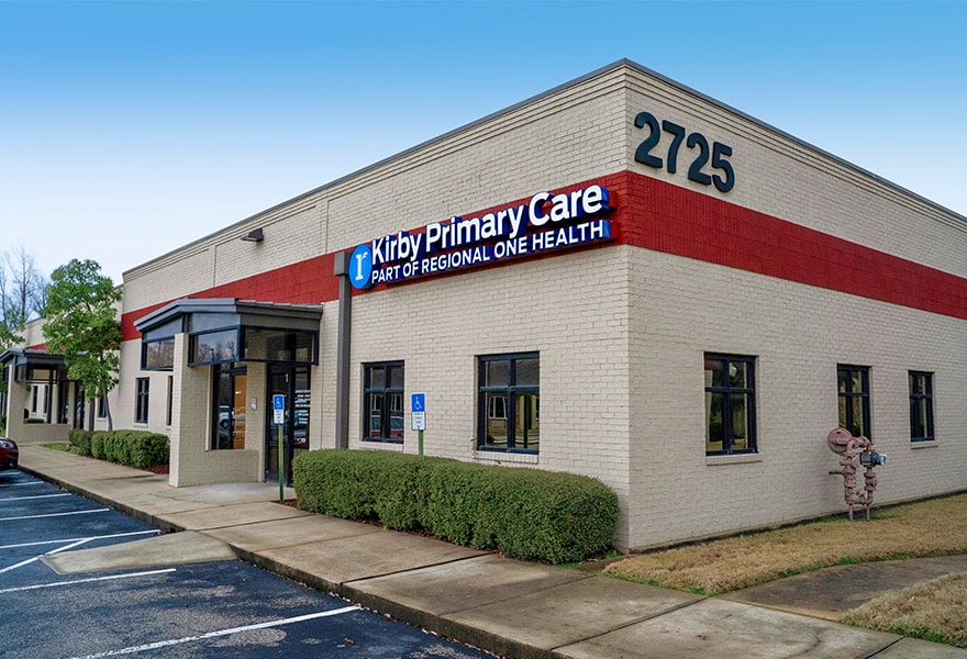 Kirby Primary Care | Regional One Health