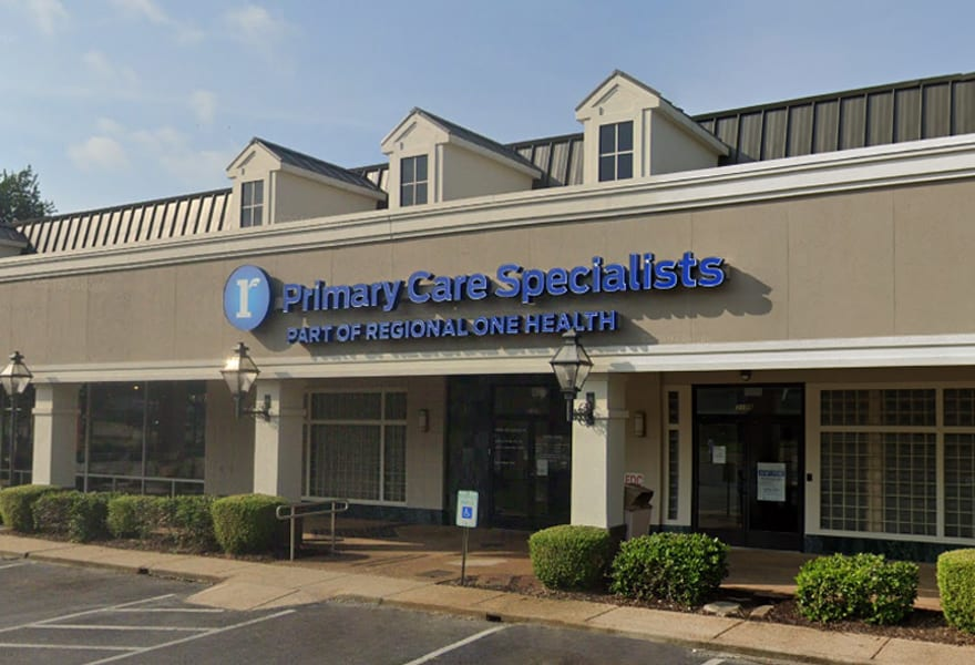 Regional One Health | Primary Care Specialists