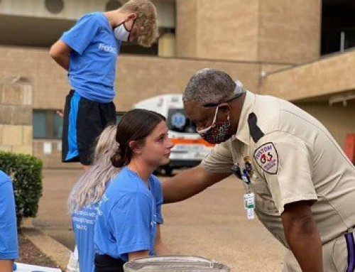It's Kenneth DeBerry's job to watch for threats at Regional One Health – but he's also on the lookout for people in need of a friendly face