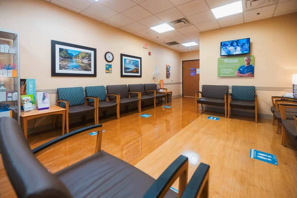 Plastic Surgery and Laser Center Wait Area   Regional One Health